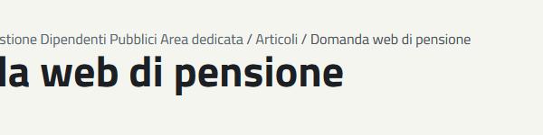 DomandaPensione
