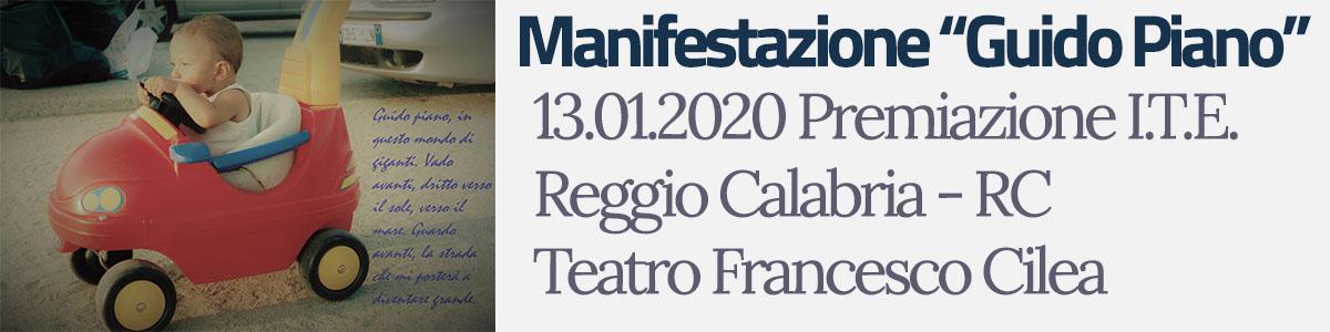 "Premiazione Manifestazione ""Guido Piano"""
