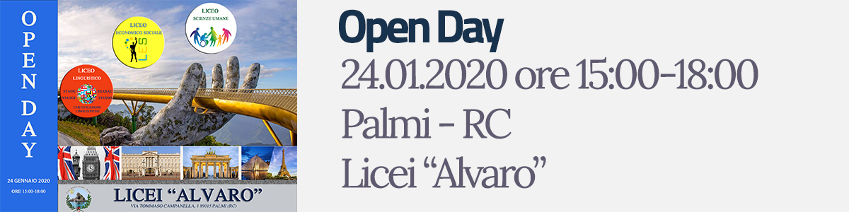 Open Day Licei 1920