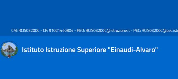 Pagina facebook IIS Einaudi-Alvaro Palmi