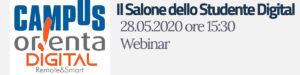 Il Salone dello Studente Digital – Webinar 28.05.2020 ore 15:30